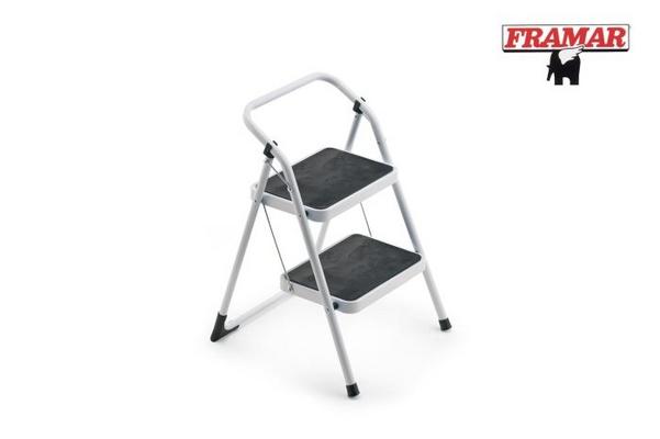 Framar sgabello acciaio gradini colore bianco confronta prezzi.