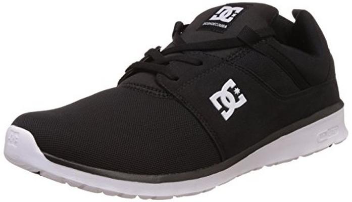 DC Shoes ADYS700071, Scarpe Sportive Uomo, Nero (Black/White BKW), 45 EU