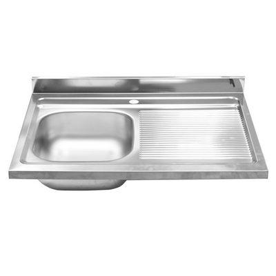 Inox Lavello lavabo lavandino cucina acciao inox vasca scolapiatti ...