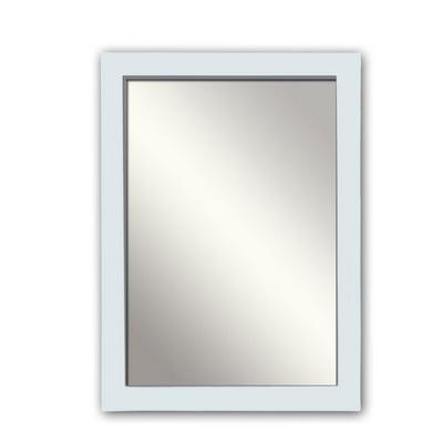 Specchio rettangolare da parete bianco L70xP2xH90cm bagno 342002
