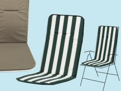 Cuscini Con Schienale Per Sedie Da Esterno : Cuscini per sedie da giardino confronta prezzi modelli e