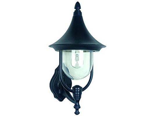 Globex lampada esterno giardino applique parete lanterna alluminio