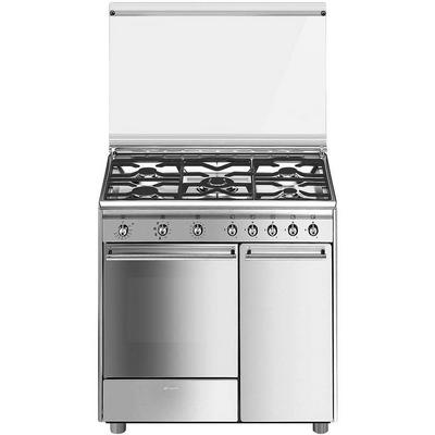 Tecnogas cucina marrone forno grill elettrico made italy confronta prezzi - Cucina smeg 5 fuochi ...