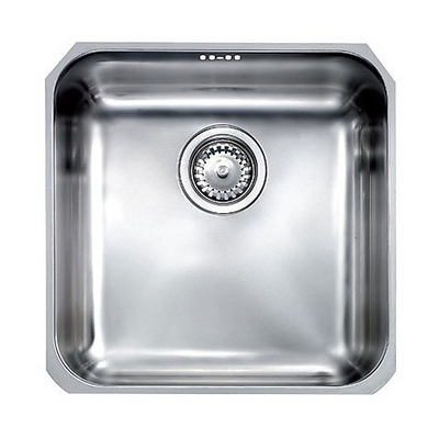 Lavello Cucina 2 Vasche Senza Gocciolatoio.Cinzia Sottotop Lavello 40x40 1 Vasca Senza Gocciolatoio Inox