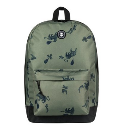 dc shoes Backstack Fabric 18.5L - Zaino medio da Uomo - Green - DC Shoes