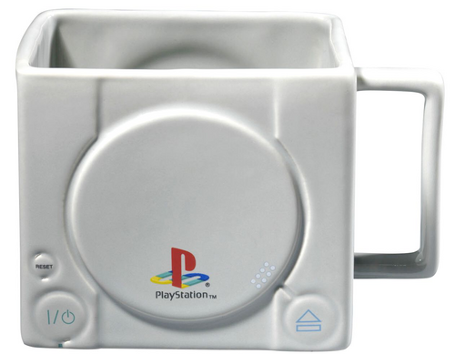 15 x 10 x 9 cm Legno Vario GB eye Ltd Playstation Tazza 3D Console