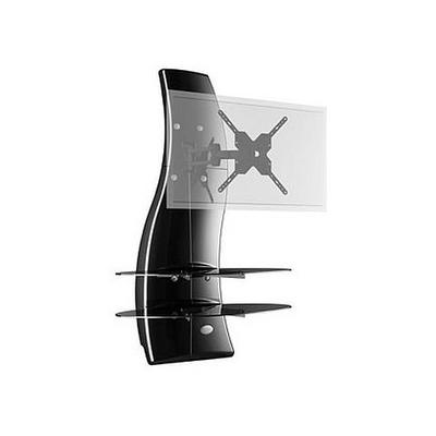 Meliconi Ghost Design 2000 Supporto Per Tv Lcd Al Plasma.Meliconi Mobile Ghost Design Rotation Plasma Portata Massima Nero