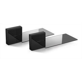 Meliconi Porta Tv Ghost Prezzi.480527 Supporti A Parete Meliconi Gost Cubes Soundbar Massima Capacita Peso 7 Kg Di Nero