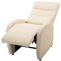 benzoni Poltrona Relax Massaggiante Riscaldabile in Ecopelle Nero