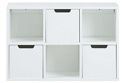 Bianco Bizzotto Norsborg Credenza 2A-2C Legno 90x40x85 cm