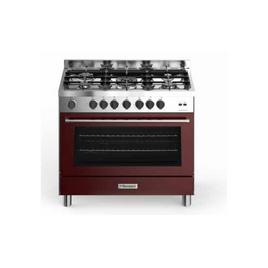 Bompani BO689DC/N Cucina Tech Bordeaux e Acciaio, confronta i prezzi ...
