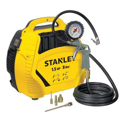 Compressore Senza Serbatoio Stanley Airkit 1 5 Hp Pressione Massima 8 Bar