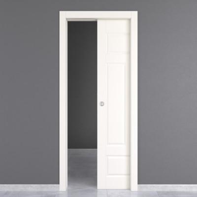 Porta da interno scorrevole Coconut Groove 70 x H 210 cm reversibile ...