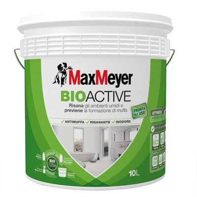 Maxmeyer Pittura murale antimuffa Bioactive MaxMeyer ...