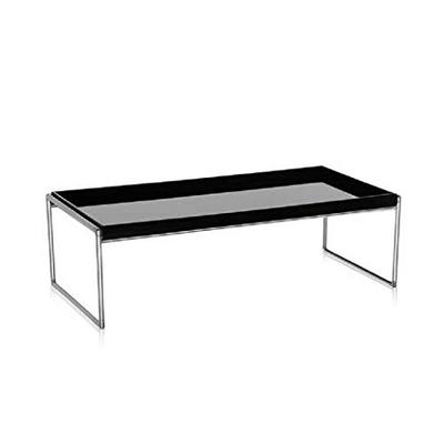 48.5x50 cm Kartell Tip Top La Double J Tavolino Nero