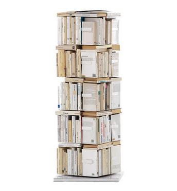 Libreria Verticale In Metallo.Opinion Ciatti Libreria Girevole Ptolomeo Lati Disposizione