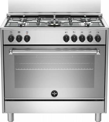 Cucina A Gas 5 Fuochi Forno Elettrico Multifunzione Libera Installazione  Larghezza X Profondità 90x60 Classe Colore - inox