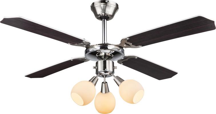 Globo lighting ventilatore soffitto luce pale lampadario velocit