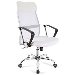 Sedia Ufficio Aspen Rete Traspirante E Sedile Imbottito Prezzo Incredibile  In Bianco