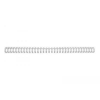 125 Fogli di Capacit/à Confezione da 100 RG810970 Bianco 14 mm A4 GBC Spirali Metalliche WireBind