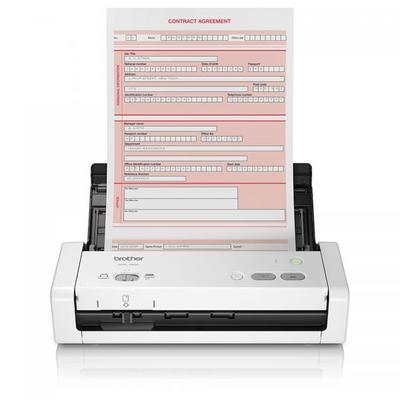 Ricondizionato Brother ADS2800W Scanner Desktop  con Rete Cablata e Wireless ADF da 50 Fogli 30 ppm Dual CIS per Scansione Fronte//Retro Automatica Touchscreen
